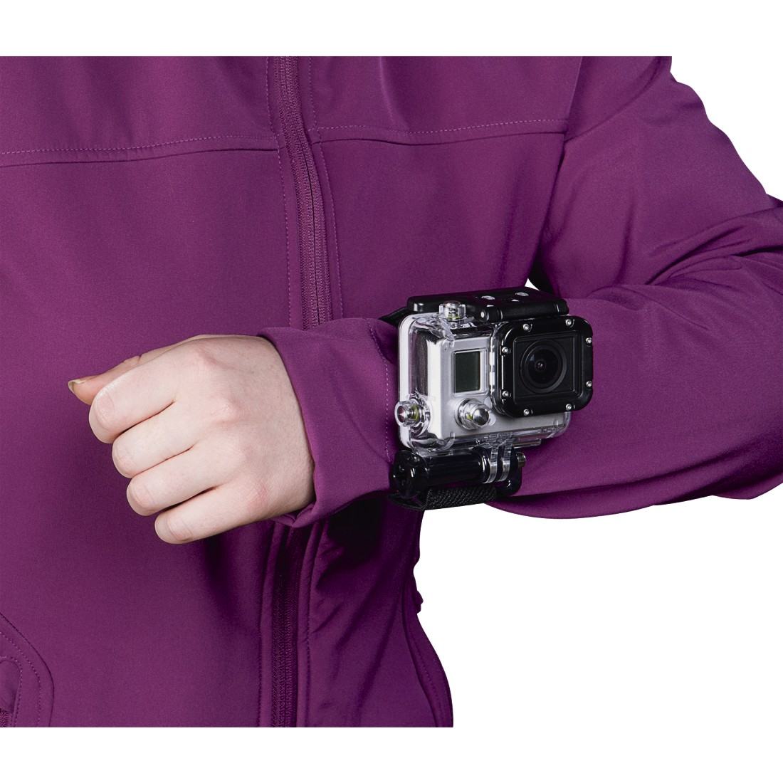 awx High-Res Appliance - Hama, Flex Wrist Strap for GoPro