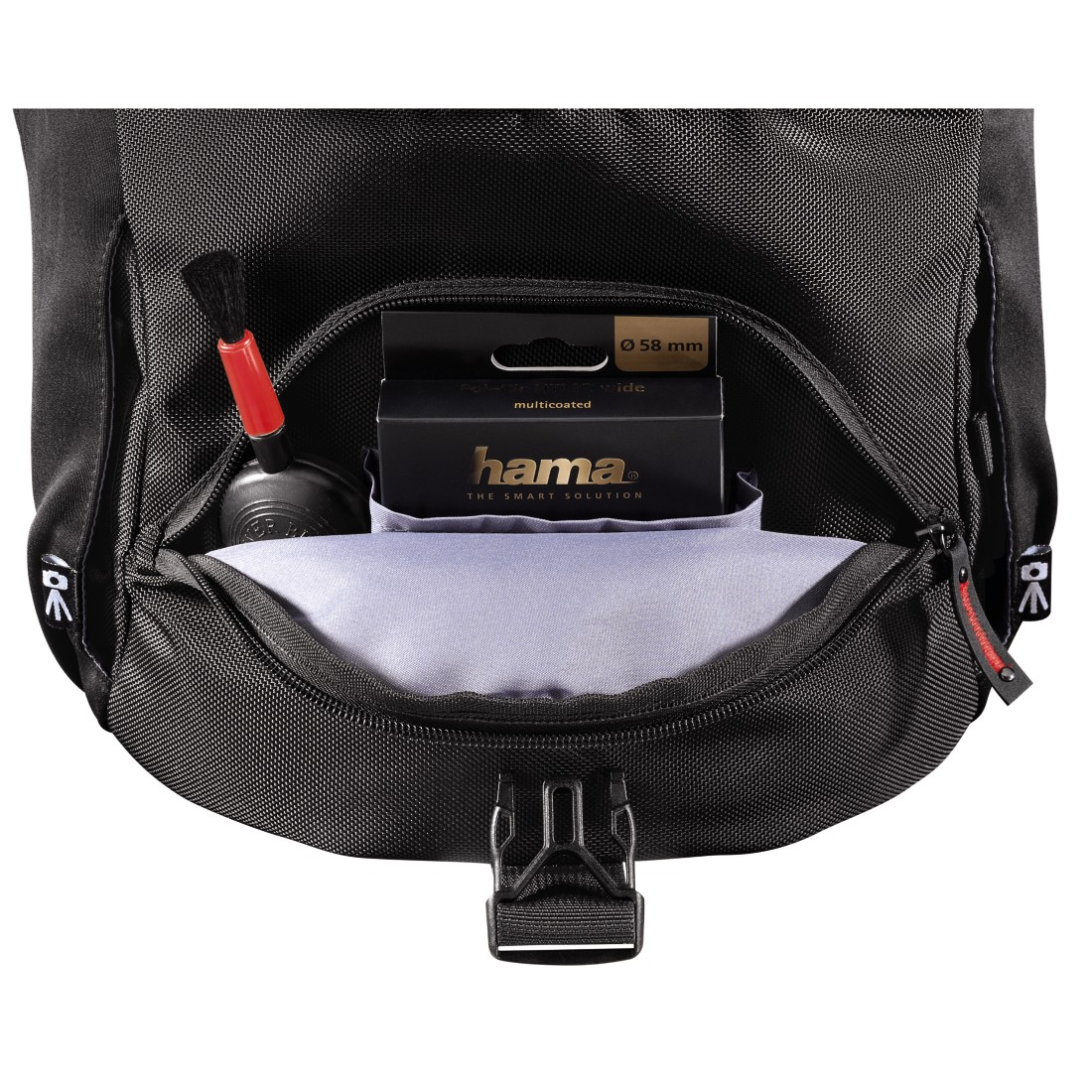dex7 High-Res Detail 7 - Hama, Protour Camera Bag, 200, black