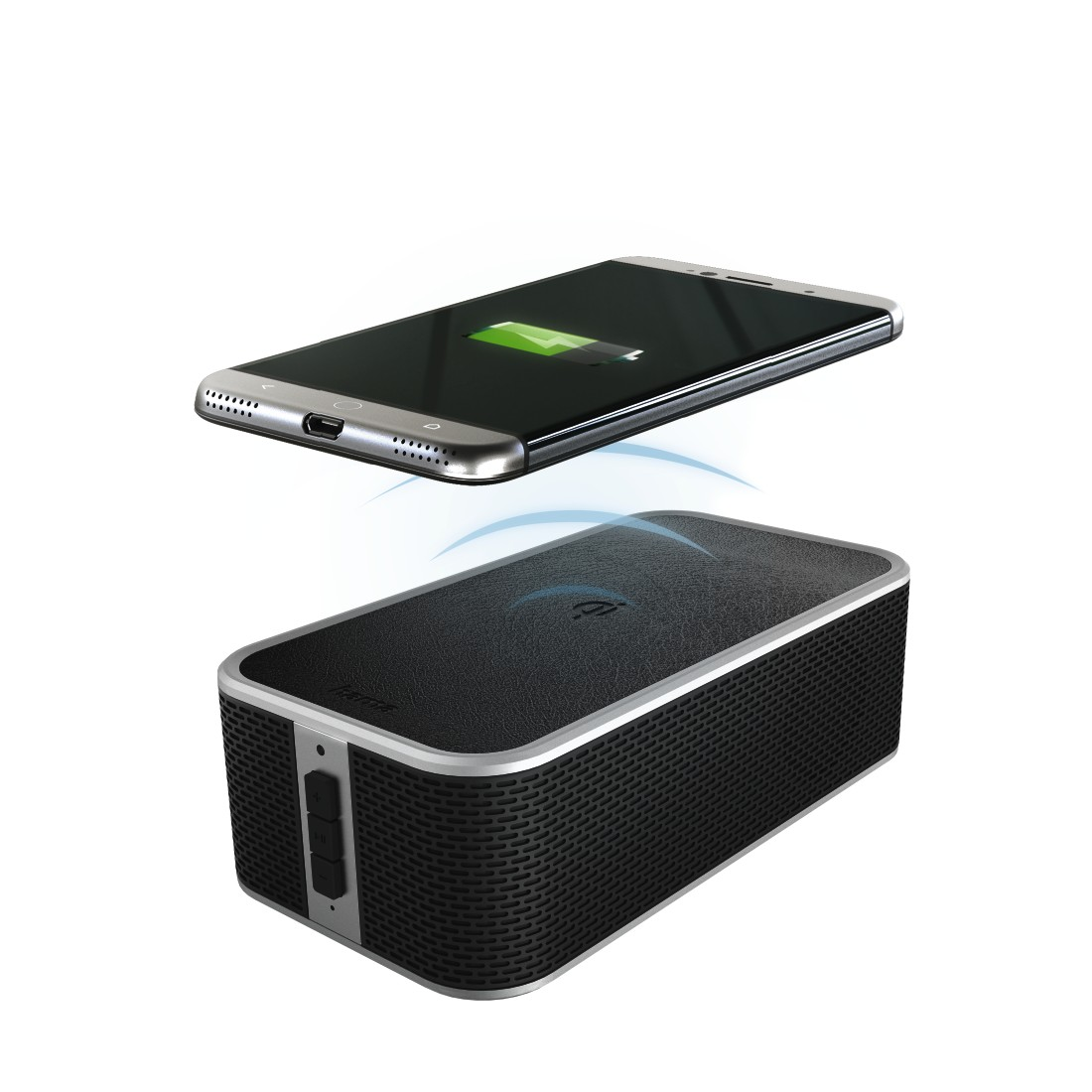 abx High-Res Image - Hama, Bluetooth Speaker + Power Brick Qi Charger