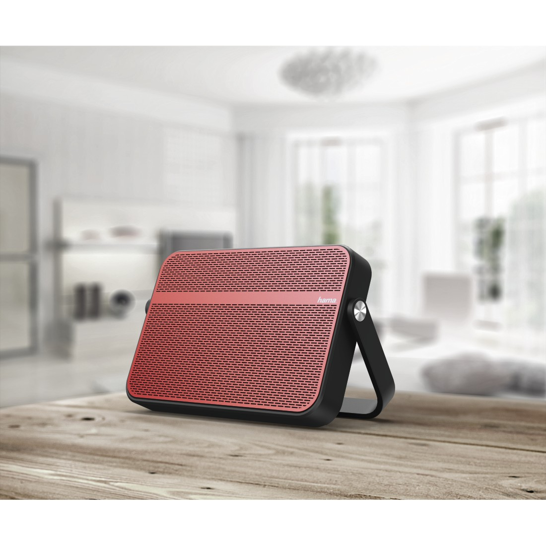 awx High-Res Appliance - Hama, Blade Mobile Bluetooth Speaker, red/black