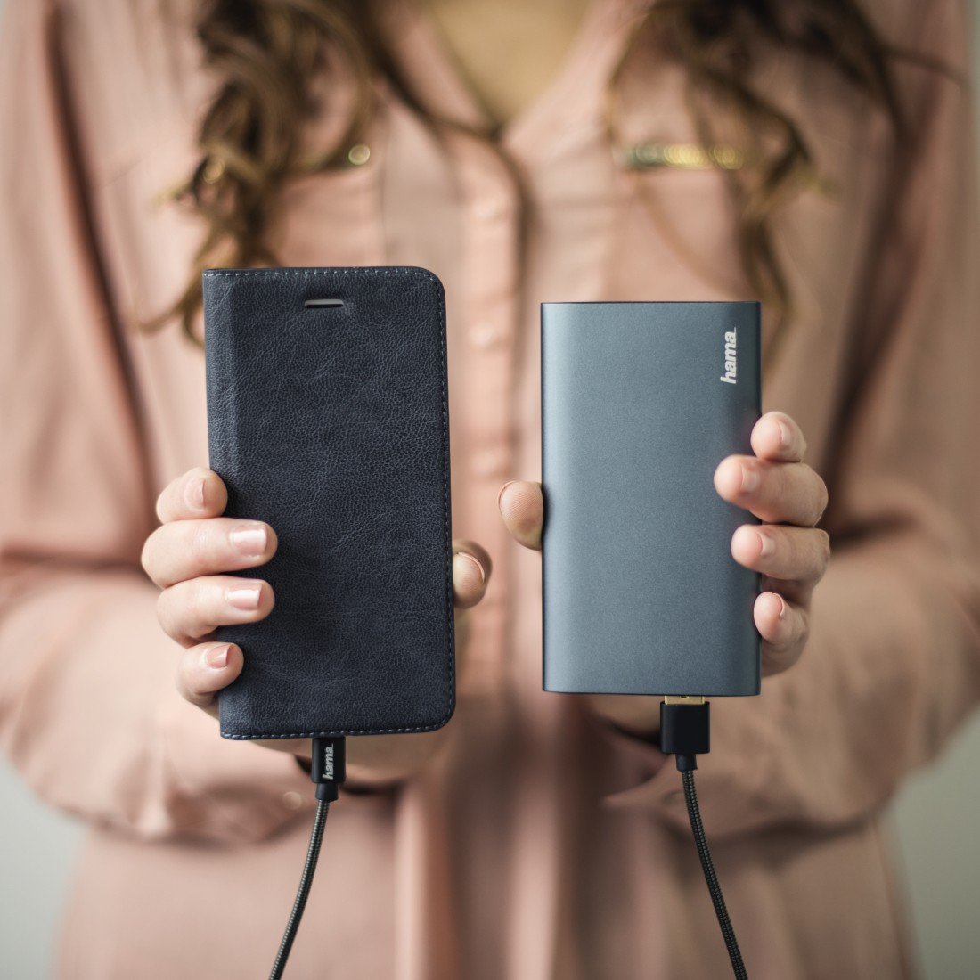 awx3 High-Res Appliance 3 - Hama, Premium Alu Power Pack, 5000 mAh, anthracite